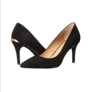 Calvin Klein |BNIB Gayle Pointed Black Patent Pump